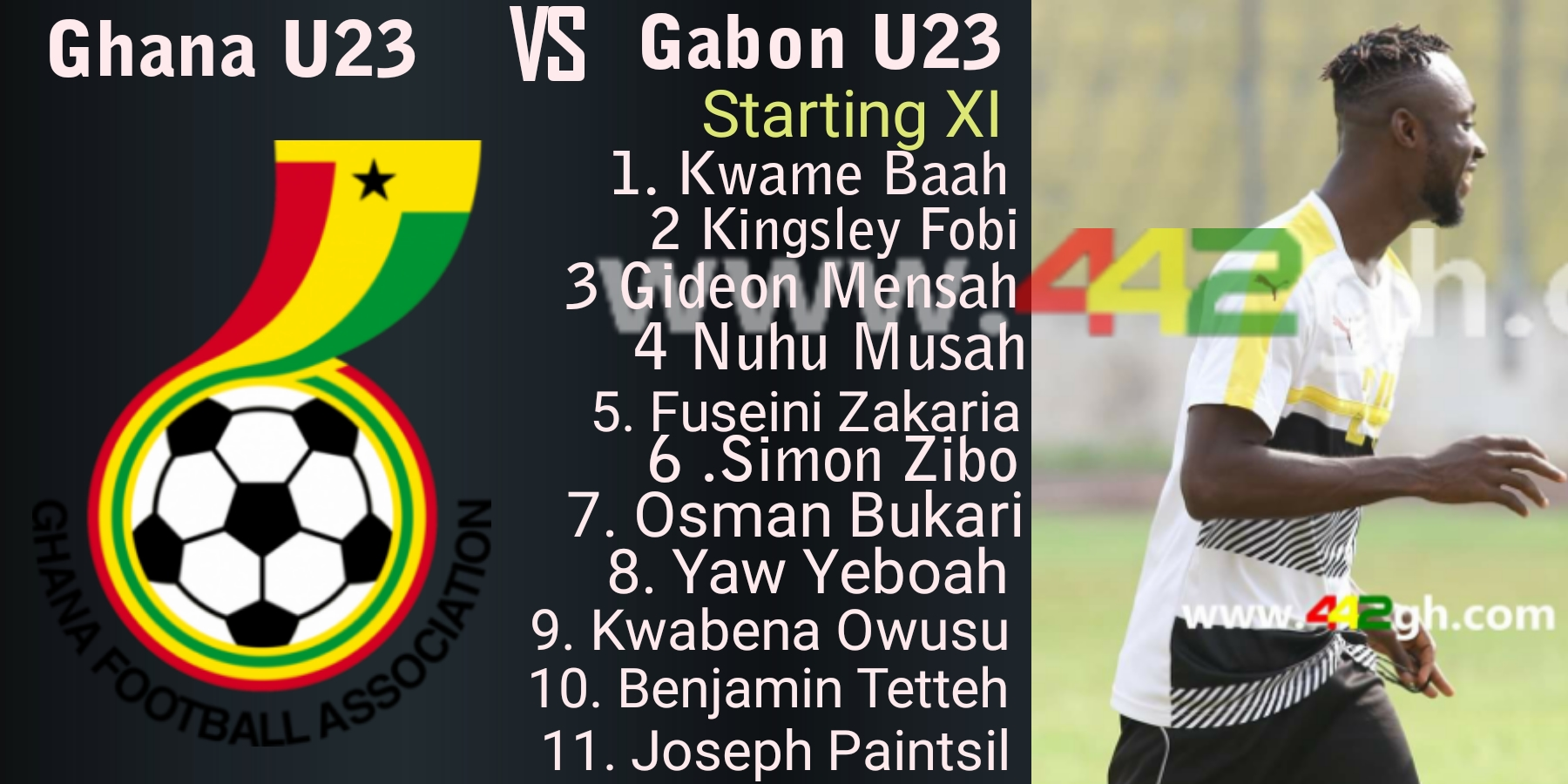 U-23 Afcon qualifier: Coach Ibrahim Tanko names strong starting XI to face Gabon
