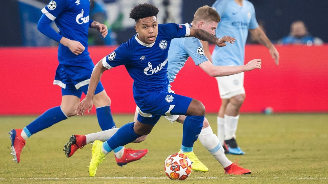 Weston McKennie exclusive: U.S. star motivated by Schalke coach Tedesco and The Rock