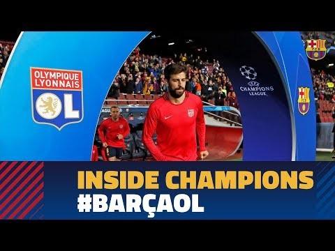 BARÇA 5-1 LYON |  Inside Champions
