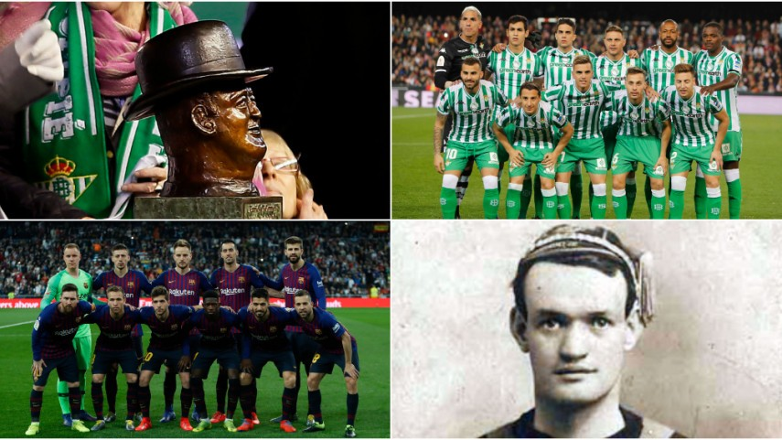 The story of Don Patricio, Real Betis and FC Barcelona
