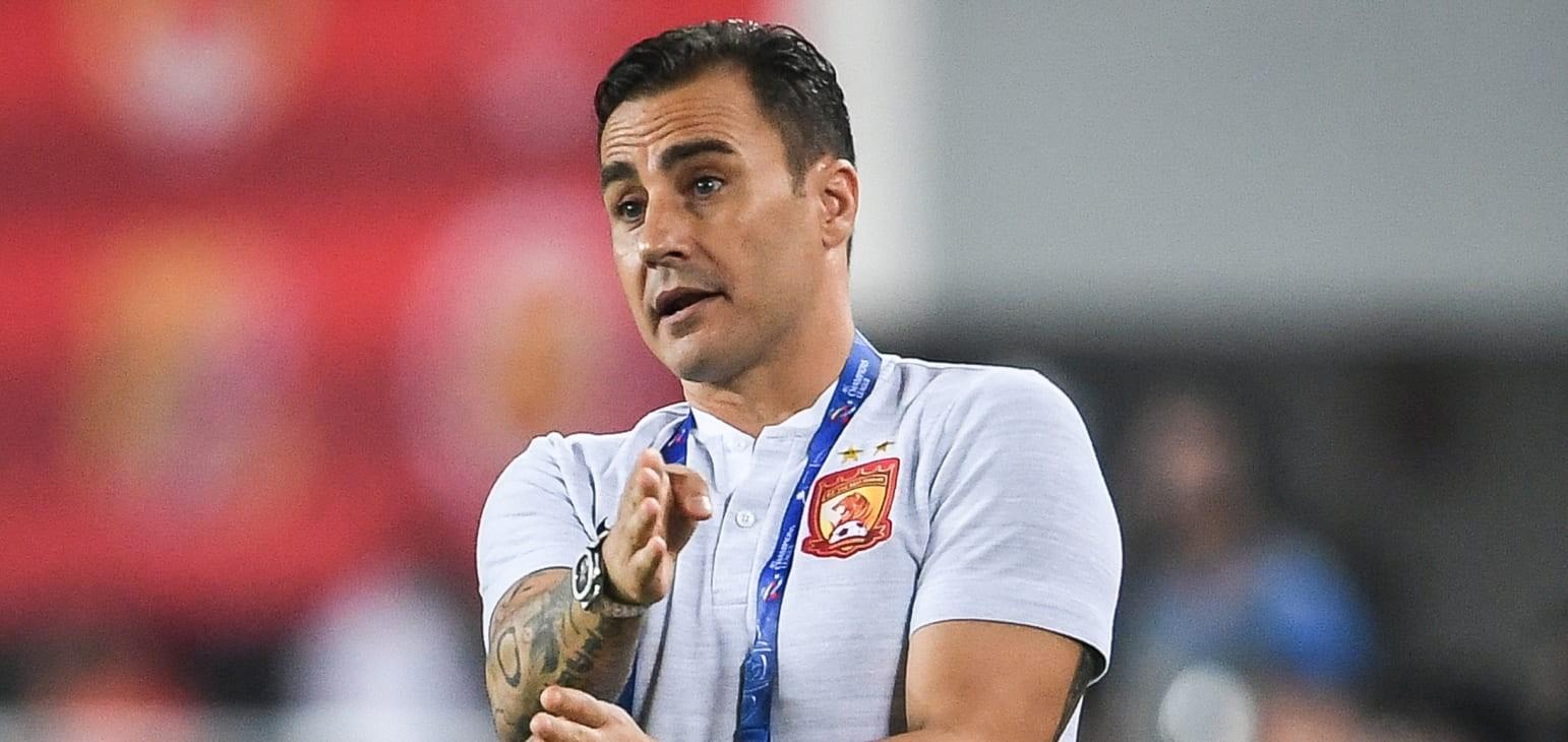 Cannavaro named new head coach of China PR