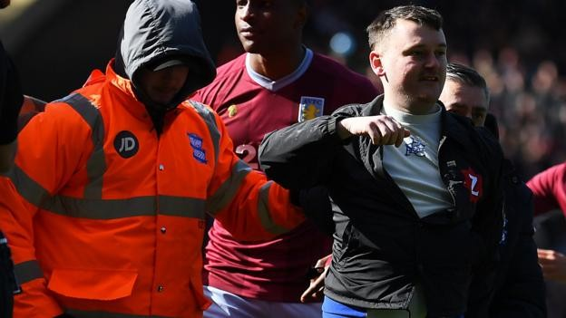 Pitch invaders: English governing bodies promise 'strongest sanctions'