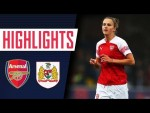 MIEDEMA WITH A HAT-TRICK | Arsenal 4 - 0 Bristol City | Goals & highlights