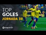 Todos los goles de la Jornada 30 de LaLiga 1|2|3 2018/2019