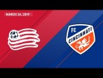 New England Revolution vs. FC Cincinnati | HIGHLIGHTS - March 24, 2019