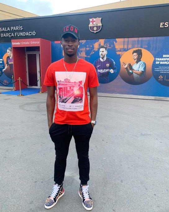 Ghana's Karim Sadat watch Barcelona thrash Lyon in UEFA Champions League