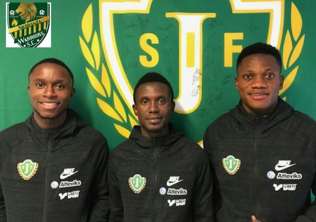Nkoranza Warriors Trio joins Jönköping Södra IF