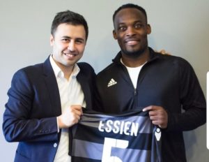 OFFICIAL: Michael Essien joins Azerbaijani side Sabail FC