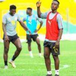 PHOTOS; Emmanuel Boateng training harder ahead of Kenya clash