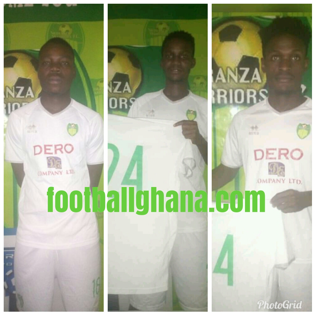 Nkoranza Warriors sign three players ahead of new season