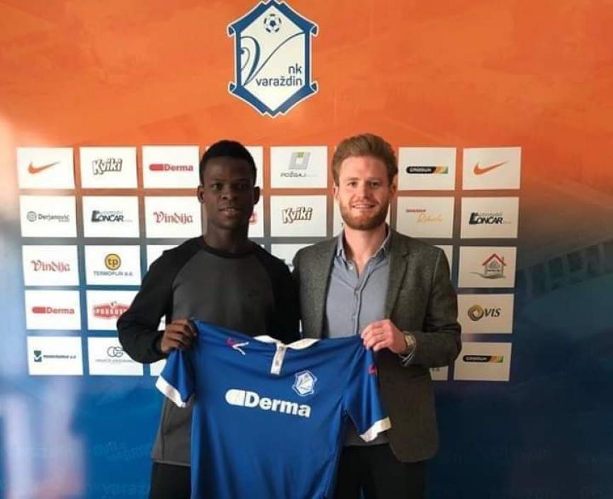 Accra Lions star Patrick Osei Kesse joins NK Varazdin
