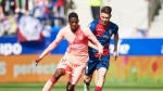 Dembele returns, youngsters Wague and Puig impress in goalless draw