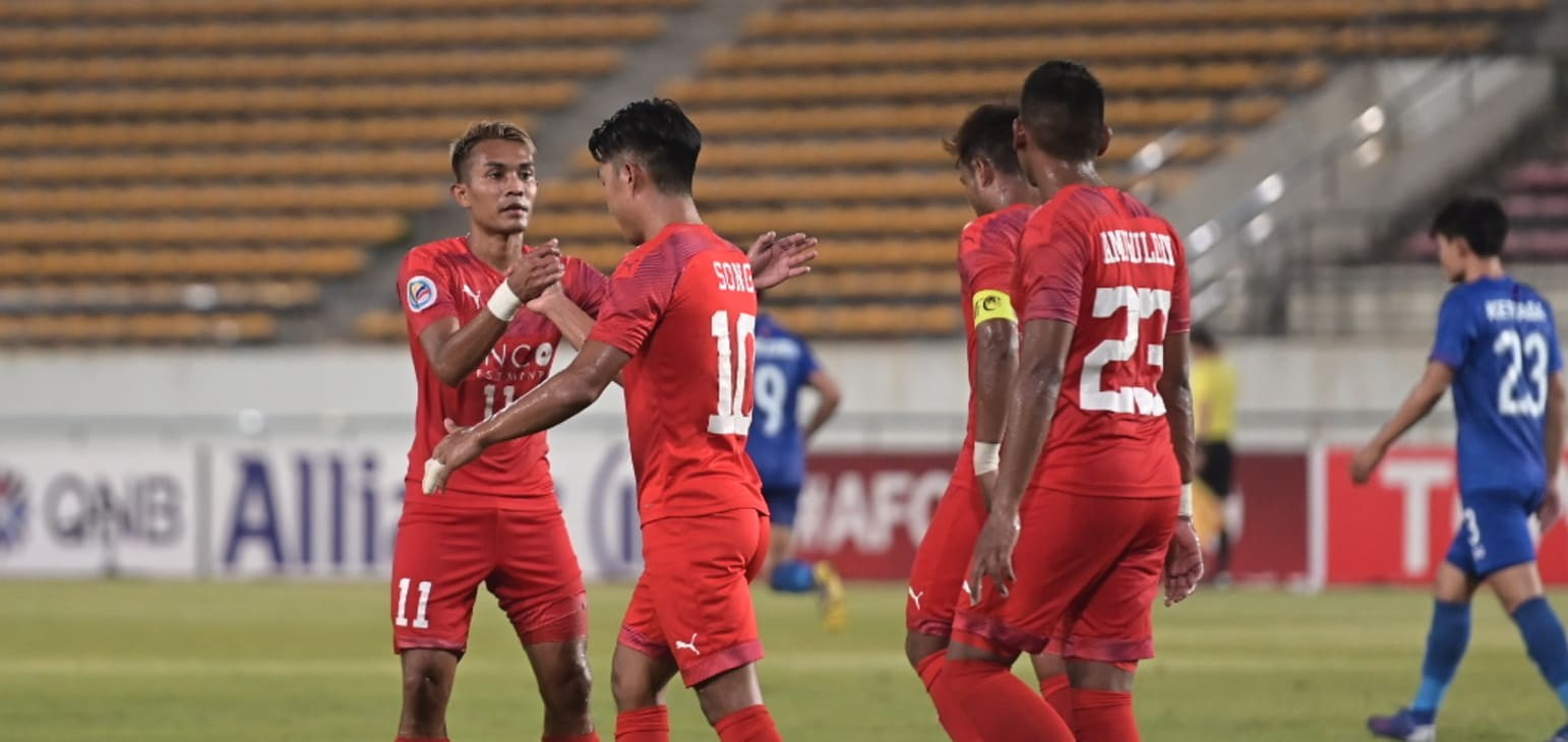 Group H: Lao Toyota FC 2-3 Home United FC