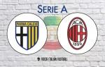 Parma v AC Milan: Official Line-Ups