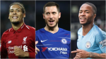 PFA Player of the Year: Sterling, Van Dijk, Aguero, Hazard, Mane & Silva on shortlist