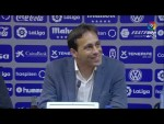 Rueda de prensa de Fran Fernández tras el CD Tenerife vs UD Almería (1-3)