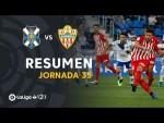 Resumen de CD Tenerife vs UD Almería (1-3)