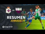 Resumen de RC Deportivo vs Extremadura UD (1-2)