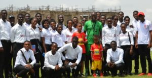 C. K. Akonnor mentors UCC student and coaches