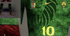 2019 Africa Cup of Nations: Cameroon unveil new kits for 2019 AFCON