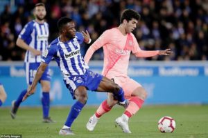 Wakaso, Twumasi feature as Barcelona whips Deportivo Alaves in La Liga