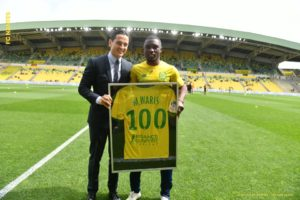 Ghana's Majeed Waris 'grateful' after making 100th French Ligue 1 appearance