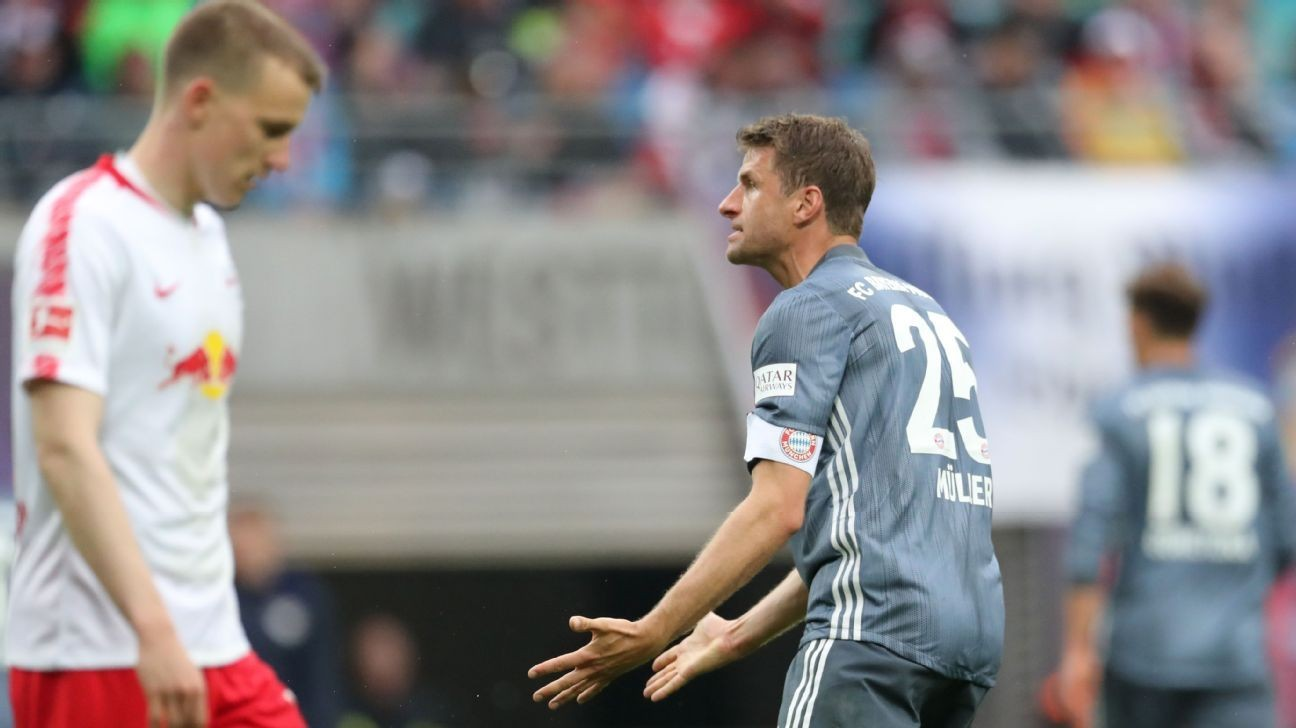 Bayern Munich miss chance to seal Bundesliga title after being held at Leipzig