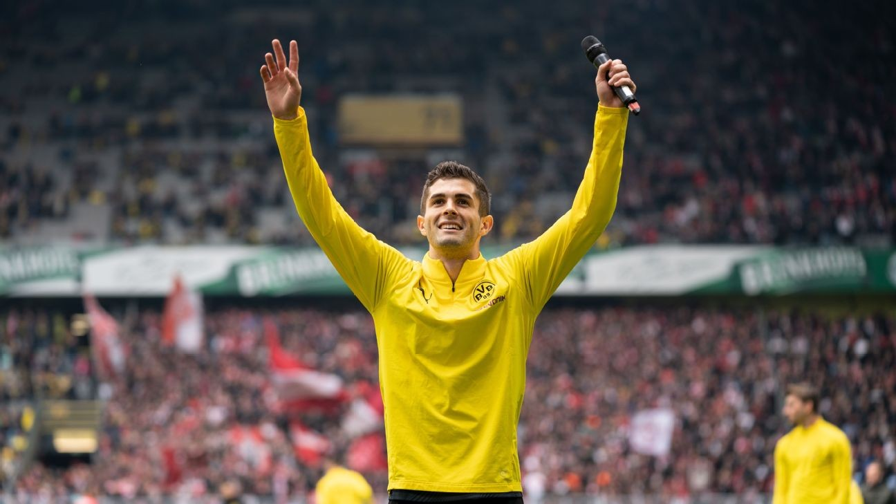 Borussia Dortmund's warm farewell for Christian Pulisic, a player always destined to move somewhere else