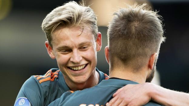 De Graafschap 1-4 Ajax: Ajax win to secure double