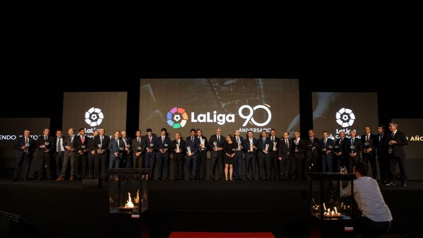 LaLiga remembers 90 years of professional football history