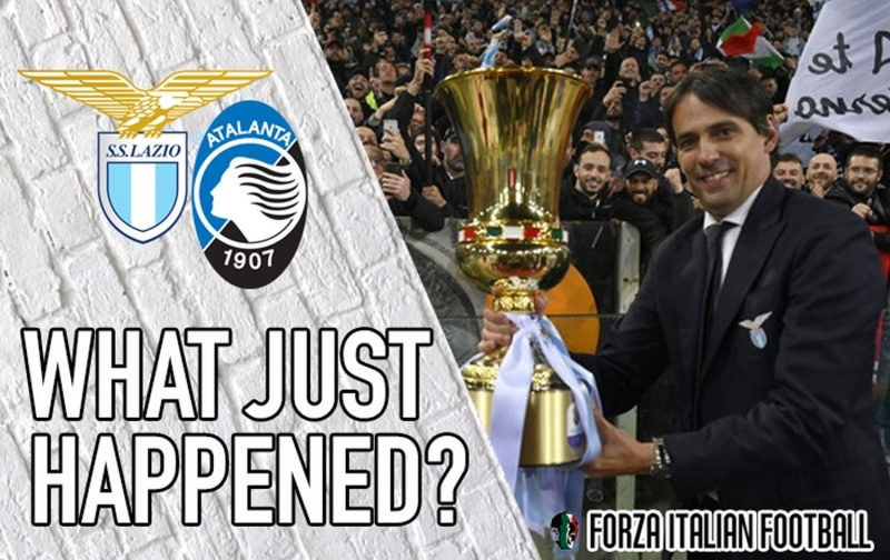 VIDEO: Atalanta 0-2 Lazio – Inzaghi masterminds Coppa Italia win