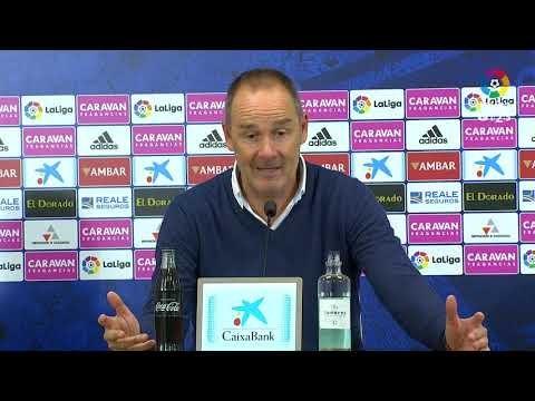 Rueda de prensa de Víctor Fernández tras el Real Zaragoza vs Real Sporting (4-2)