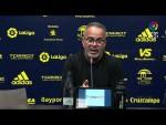 Rueda de prensa de Álvaro Cervera tras el Cádiz CF vs CA Osasuna (0-0)