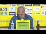Rueda de prensa de Antonio Iriondo tras el UD Las Palmas vs CF Rayo (3-2)