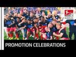 Welcome Back to the Bundesliga SC Paderborn - Emotional Promotion Celebrations