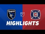 San Jose Earthquakes vs. Chicago Fire   HIGHLIGHTS - May 18, 2019