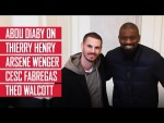 Abou Diaby on Thierry Henry, Arsene Wenger, Cesc Fabregas and Theo Walcott