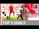 Robben, Brandt, Ribery & More - Top 5 Goals on Matchday 34