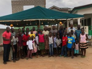 2019 Africa Cup of Nations: Black Stars technical team makes donation to Teshie Children's Home