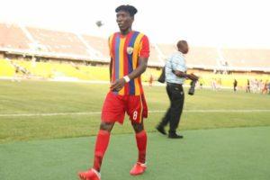 HEARTS 3-1 SHARKS: Benjamin Afutu adjudged man of the match
