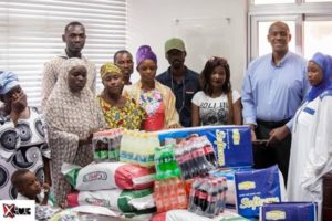 May 9 disaster victims receive support from Coca Cola Ghana and Interplast