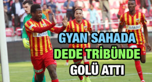 Video: Jittery elderly man reacts to Asamoah Gyan life-saving goal in Turkey