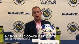 Nashville SC head coach Gary Smith happy to have David Accam At Club