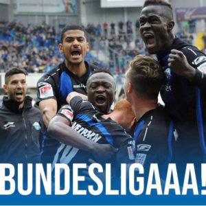 Ghana's Bernard Tekpetey grateful God Almighty after securing promotion Bundesliga with SC Paderborn