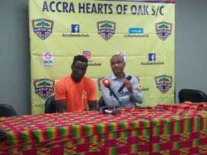 Special Competition: Kim Grant insists Hearts of Oak are determined to win remaining matches