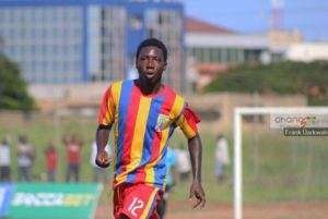 Hearts defender William Denkyi in line to face liberty after returning from injury