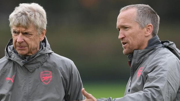Darren Burgess: Director of high performance set to leave Arsenal after two years