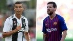 Cristiano Ronaldo behind Messi as world's highest paid athlete