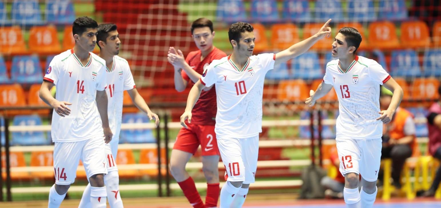 Group A: Hong Kong 3-7 IR Iran