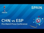 CHN v. ESP - Spain - Pre-Match Press Conference